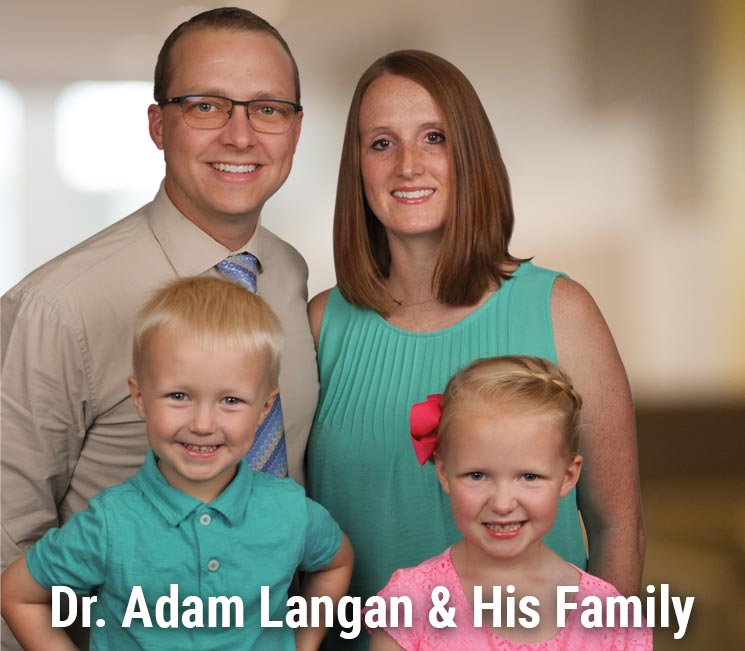 Dr. Adam Langan and His Family